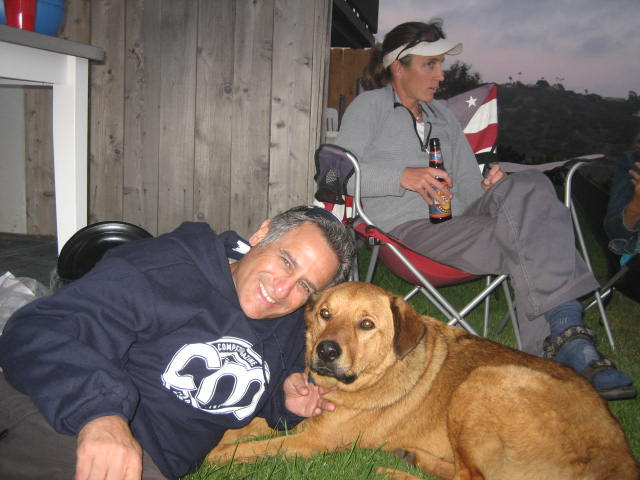 I had the honor of meeting Taz back in 2007, who still wanted to always be by Danelle's side.
